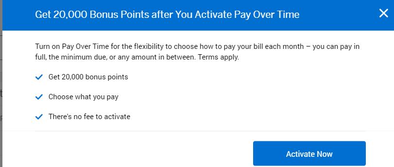 《注册即送20000点数奖励 - Amex Pay Pver Time活动又回来了》