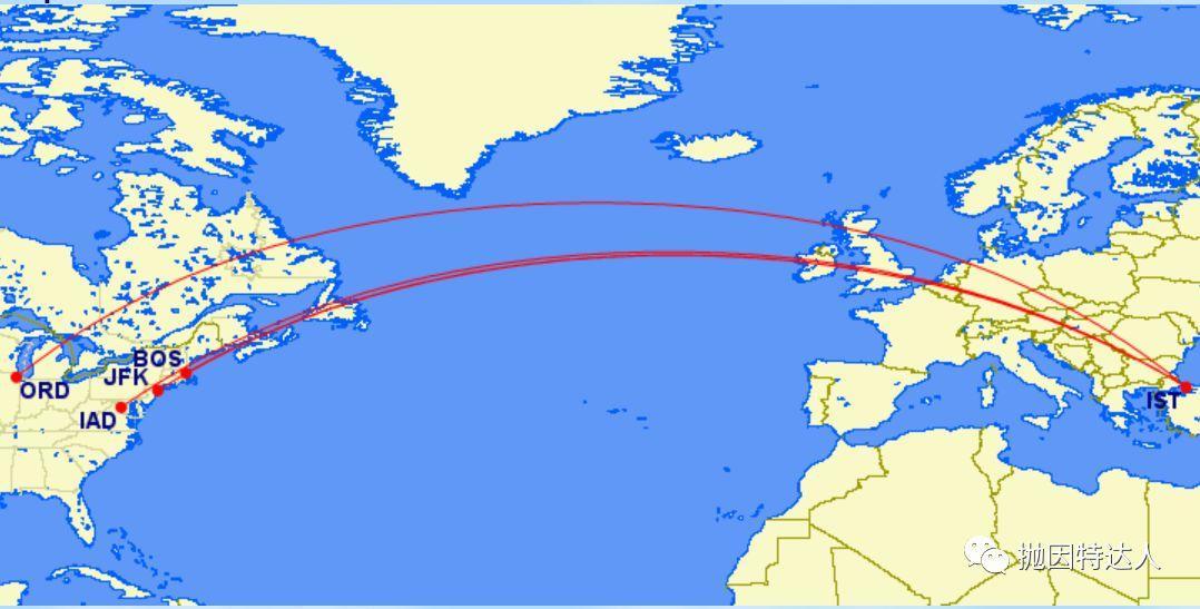 《仅需26K里程即可兑换的长途欧美豪华商务舱来了 - 土耳其航空里程票二月促销活动》