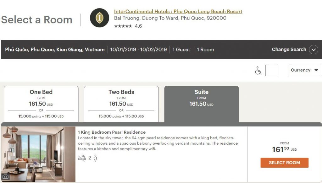 《套房和基础房价格一样!多日期可选!富国岛网红洲际Bug来了!》
