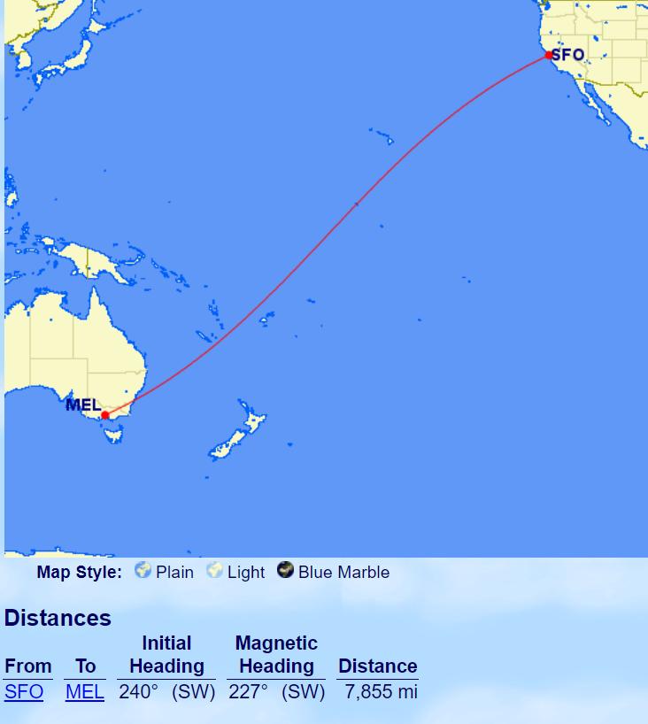 《近乎免费的美国 - 澳大利亚机票来了【新增芝加哥 - 墨尔本机票】》