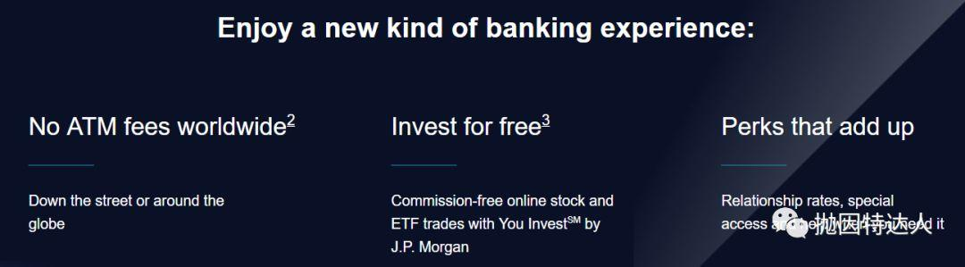 《1000美元奖励&免费投资账户 - Chase Sapphire Banking账户》
