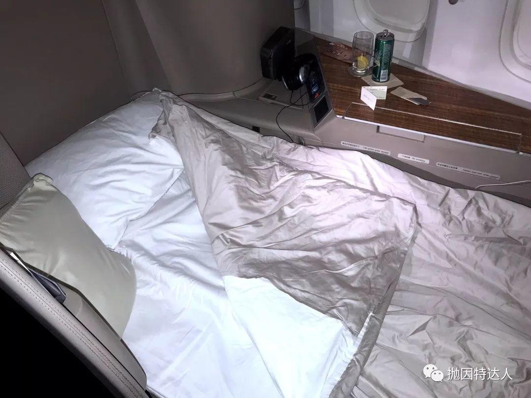 《比上稍显不足,比下绰绰有余 - 国泰航空B77w(香港 - 纽约)头等舱体验报告》