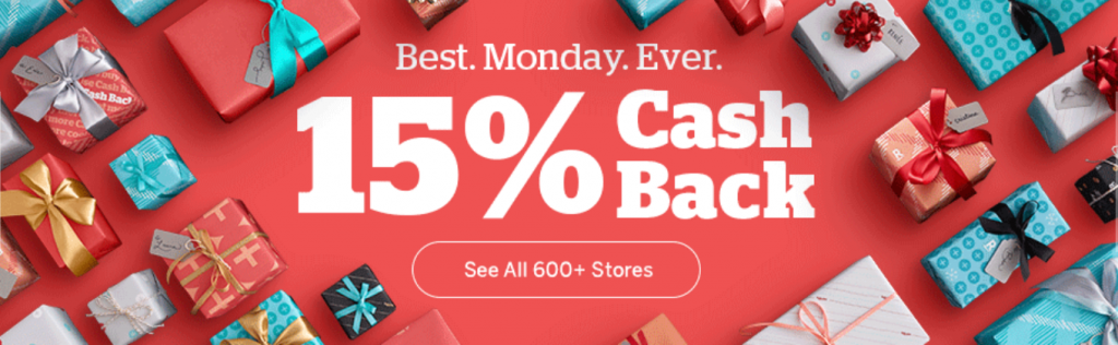 《仅限今天的Cyber Monday大回血 - 在大量商家网购可获得额外25.5%优惠》
