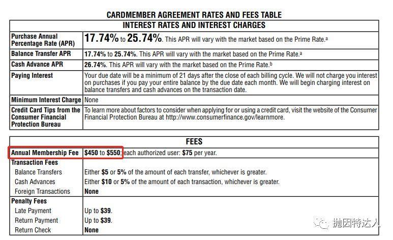 《【消息已确认】Chase Sapphire Reserve年费将上涨到550美元》