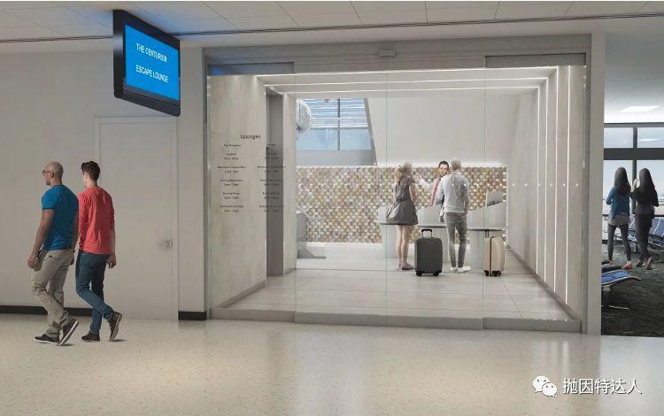 《超顶尖机场贵宾室添加新成员 - 菲尼克斯机场(PHX)的运通百夫长休息室全新开业了》