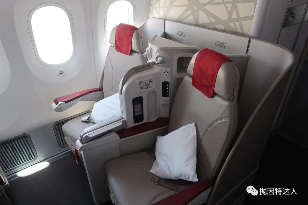 《飞机也有上下铺 - 皇家摩洛哥航空B787-8 CMN - DOH(卡萨布兰卡 - 多哈)商务舱体验报告》