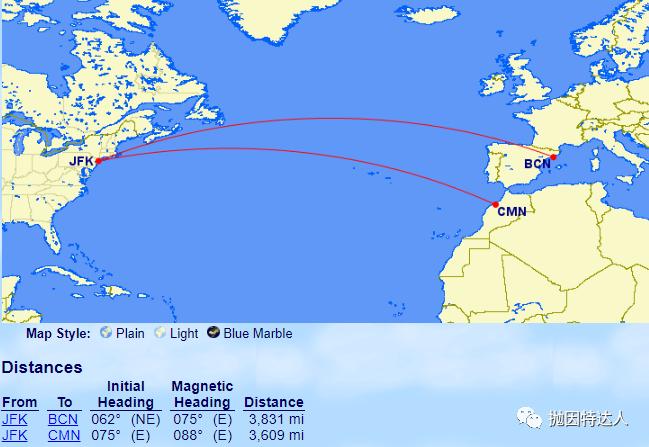 """《摩洛哥被""""并入""""欧洲 - 美国航空里程出现了新的兑换亮点哦》"""
