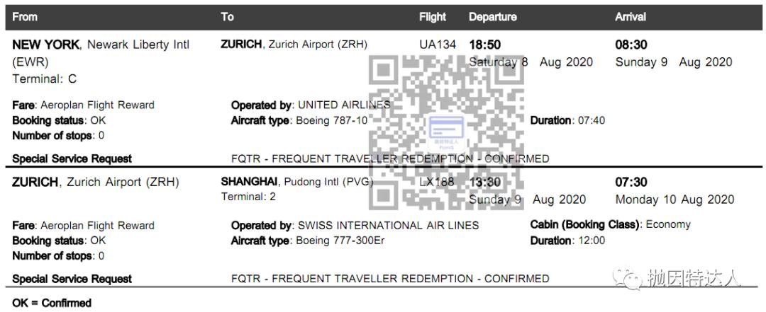 《通过里程兑换拿下了回国机票 - 给大家分享一下乐透票中奖的幸运儿》
