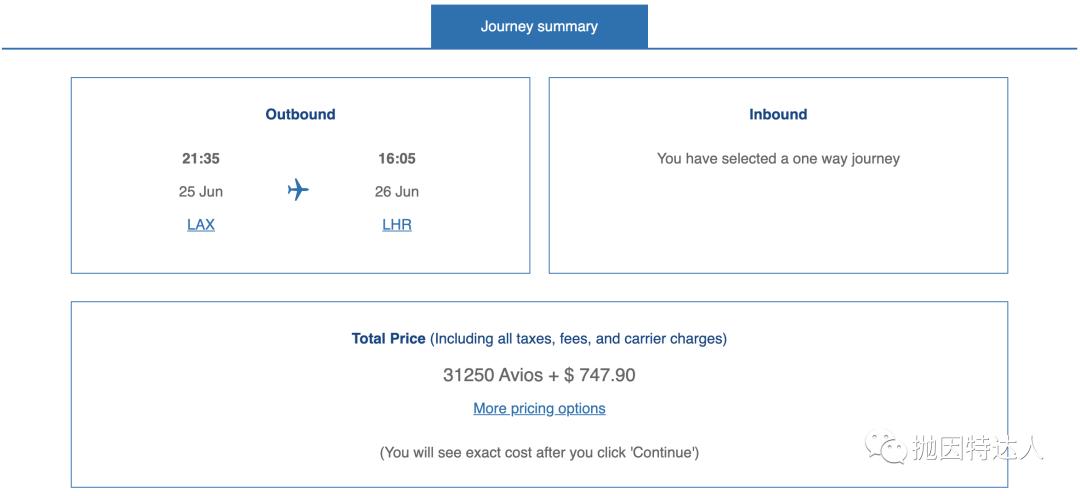 《特价机票换起来 - 这家航司的里程票几乎全线五折》
