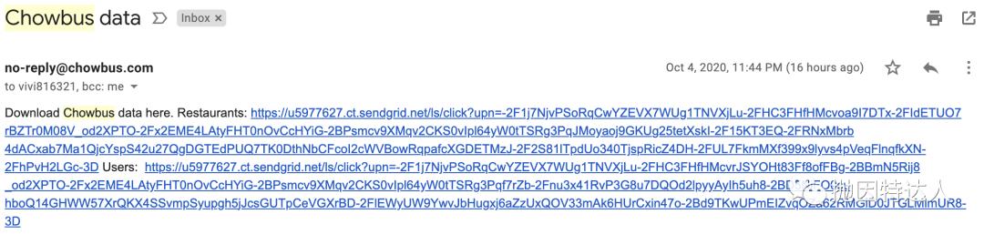 《Chowbus发生严重数据泄漏,近80万用户受影响,大家中招了吗?》
