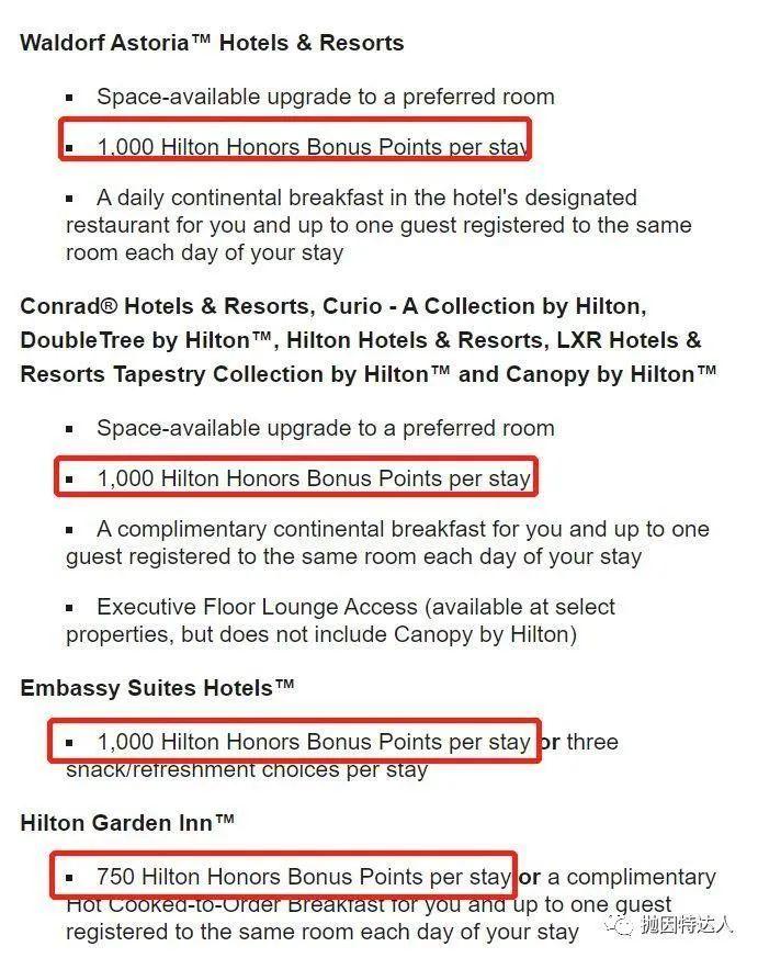 《又是免费入住旗下酒店的机会 - 别忘了希尔顿的新人大礼包》